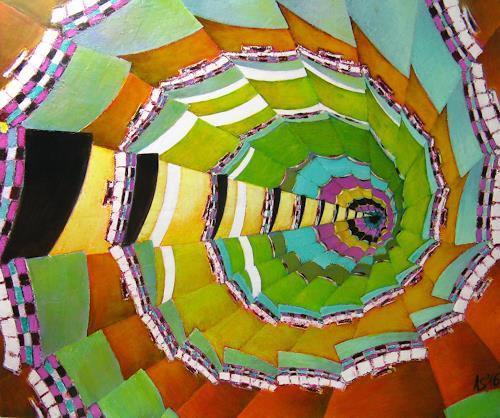 Arthur Schneid, CERN 8 - Bunte Löcher, Technik, Diverse Weltraum, Gegenwartskunst