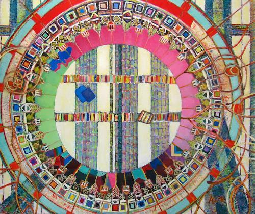 Arthur Schneid, CERN 1 - DIe Weltmaschine, Technik, Abstraktes, Moderne, Expressionismus