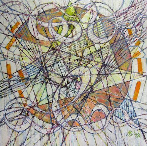 Arthur Schneid, BIG DATA - Cybermusik, Krieg, Abstraktes, Abstrakte Kunst, Expressionismus