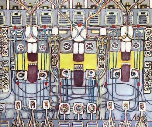 Arthur Schneid, BIG Data - Robotnik, Technik, Gesellschaft, Abstrakte Kunst