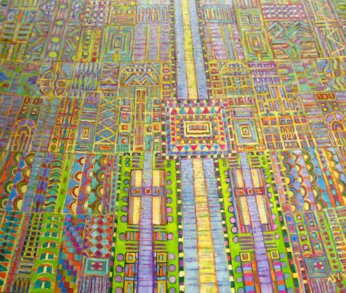 Arthur Schneid, BIG DATA - Der Platinengarten, Technik, Fantasie, Abstrakte Kunst