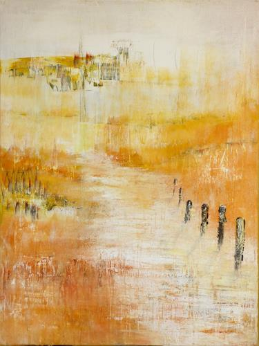 Rita Reise, O/T, Abstraktes, Abstrakter Expressionismus