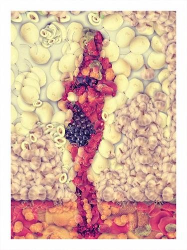 mike coleman, früchtchen, Diverses, Diverses, Pop-Art, Abstrakter Expressionismus
