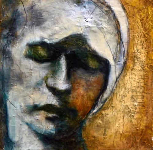 Eva Vogt, Maria, Menschen: Gesichter, Abstrakte Kunst, Expressionismus