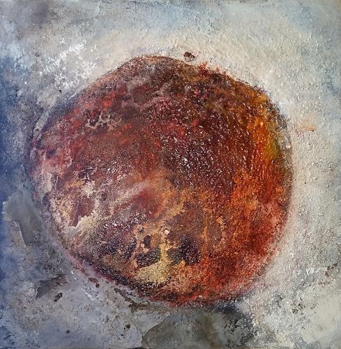 Eva Vogt, Strukturen 3, Abstraktes, Gegenwartskunst
