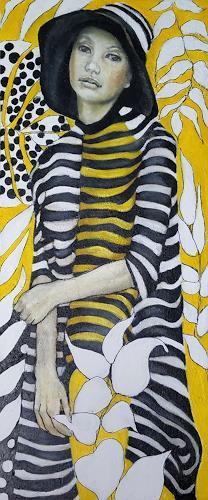 Eva Vogt, Paradis, Menschen: Frau, Gegenwartskunst, Expressionismus