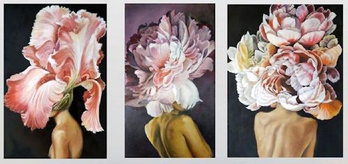 Eva Vogt, Floral, Skurril, Gegenwartskunst