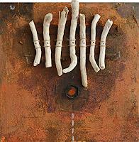 Raul-Lopez-Garcia-Abstraktes-Musik-Instrument-Moderne-Abstrakte-Kunst-Art-Brut
