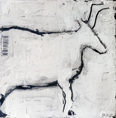 Raúl López García, c.XXI meets Lascaux, Symbol, Tiere, Abstrakte Kunst, Abstrakter Expressionismus