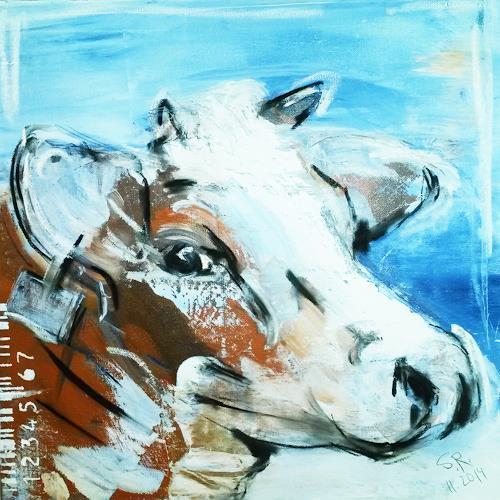 "Stefanie Rogge, ""Else123456"" Kuh, Tiere: Land, Gesellschaft, Expressionismus"