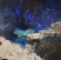 Marianne-Kron-Abstraktes-Landschaft
