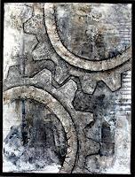 Marianne-Kron-Abstraktes-Technik