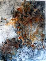 Marianne-Kron-Abstraktes-Technik-Moderne-Abstrakte-Kunst