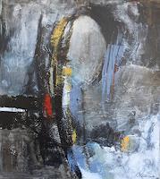 Marianne-Kron-Abstraktes-Landschaft-Moderne-Abstrakte-Kunst