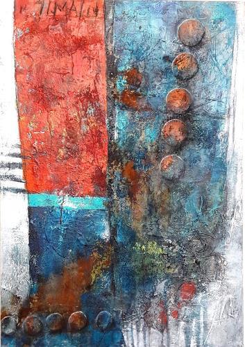 Marianne Kron, Alte Liebe, Abstraktes, Abstrakte Kunst
