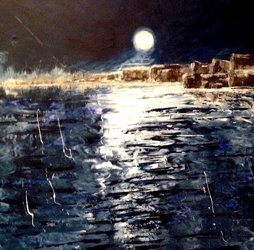 Beatrix Schibl, Bad Moon Rising, Musik, Bewegung, Andere, Abstrakter Expressionismus