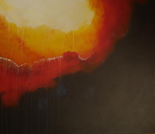Beatrix Schibl, Deep Space, Weltraum, Diverse Weltraum, Abstrakte Kunst, Expressionismus