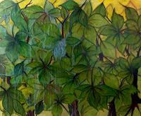 Beatrix-Schibl-Landschaft-Pflanzen-Moderne-Naive-Kunst