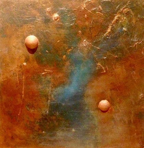 Beatrix Schibl, O.T., Abstraktes, Landschaft, Abstrakte Kunst, Expressionismus