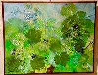 Beatrix-Schibl-Landschaft-Sommer-Pflanzen-Fruechte-Gegenwartskunst-Land-Art