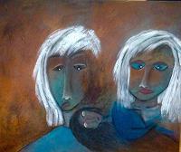 Beatrix-Schibl-Gefuehle-Angst-Menschen-Gesichter-Moderne-Expressionismus