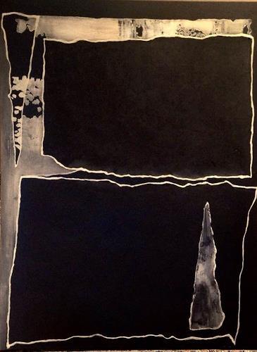 Beatrix Schibl, Only black, Abstraktes, Skurril, Abstrakte Kunst, Abstrakter Expressionismus