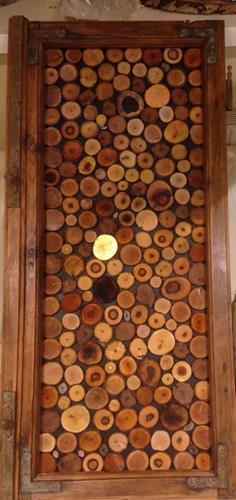 Beatrix Schibl, Holzscheibenrelief, Dekoratives, Abstraktes, Konstruktivismus