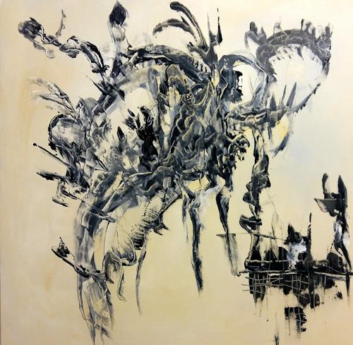Myriam Kohler, ohne Titel, Fantasie, Abstrakte Kunst, Abstrakter Expressionismus