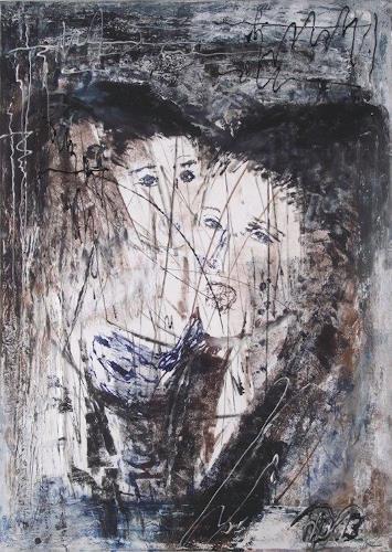 Hans-Dieter Ilge, Kanthate, Menschen, Menschen, Gegenwartskunst, Abstrakter Expressionismus