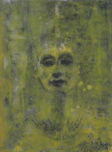 Hans-Dieter Ilge, N., Menschen: Porträt, Geschichte, Gegenwartskunst, Expressionismus