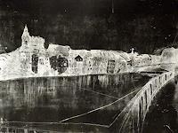Hans-Dieter-Ilge-Fantasie-Landschaft-Winter-Moderne-expressiver-Realismus