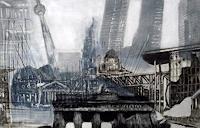 Hans-Dieter-Ilge-Architektur-Gesellschaft-Moderne-expressiver-Realismus