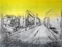 Hans-Dieter-Ilge-Architektur-Situationen-Moderne-expressiver-Realismus