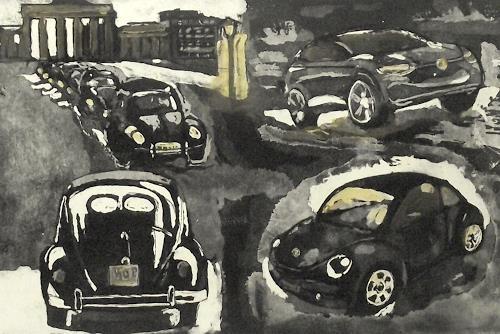 Hans-Dieter Ilge, Käfer-mobil, Bewegung, Verkehr: Auto, Gegenwartskunst