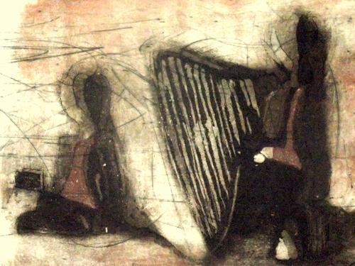 Hans-Dieter Ilge, Winterlied, Gefühle: Geborgenheit, Fantasie, Gegenwartskunst, Expressionismus