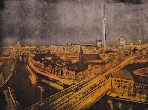 Hans-Dieter Ilge, Conspectus orbis: Berlin II, Diverse Landschaften, Gegenwartskunst, Expressionismus
