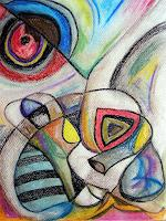 Jessica-Berger-Diverse-Gefuehle-Fantasie-Moderne-Expressionismus-Abstrakter-Expressionismus
