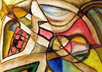 Jessica-Berger-Diverse-Gefuehle-Moderne-Expressionismus-Abstrakter-Expressionismus