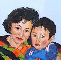 Patricia-del-Pilar-Gottstein-Menschen-Portraet-Menschen-Kinder-Neuzeit-Realismus