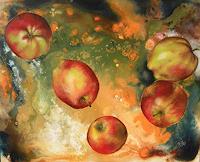 Patricia-del-Pilar-Gottstein-Pflanzen-Fruechte-Diverse-Weltraum-Neuzeit-Realismus