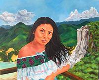 Patricia-del-Pilar-Gottstein-Menschen-Portraet-Landschaft-Tropisch-Neuzeit-Realismus