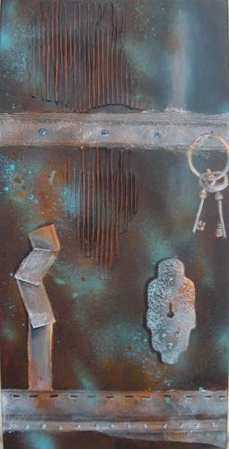 Patricia del Pilar Gottstein, Die Schlüssel, Wohnen: Industrie, Technik, Abstrakte Kunst