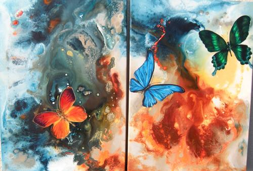 Patricia del Pilar Gottstein, Schmetterling, Tiere: Luft, Fantasie, Realismus