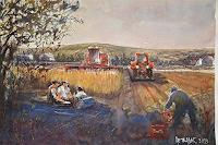 Milos-Petkovic-Landschaft-Moderne-Impressionismus