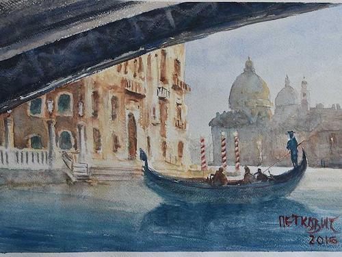 Milos Petkovic, Venedig 1, Wohnen, Impressionismus