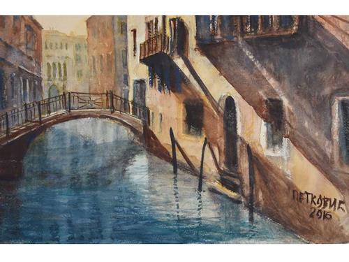 Milos Petkovic, Venedig 5, Märchen, Wohnen: Stadt, Impressionismus
