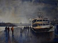 Milos-Petkovic-Wohnen-Stadt-Moderne-Impressionismus