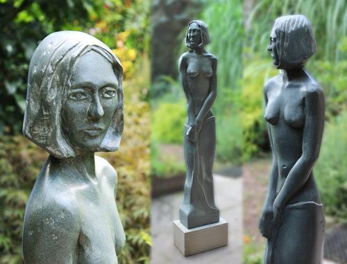 Martin Künne, Figur Nr. 9, Menschen: Frau, Menschen: Porträt, Neuzeit, Expressionismus