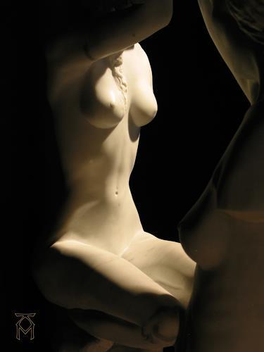 Martin Künne, 3 Frauen (Teilansicht 1), Menschen: Frau, Expressionismus