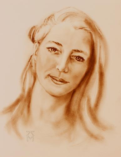 Martin Künne, Kopf 11-2, Menschen: Frau, Menschen: Porträt
